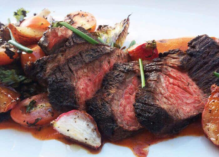 flat iron steak - ilovetaste