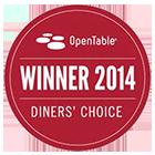 Open Table Winner